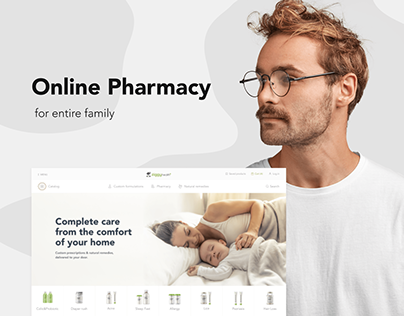 Online pharmacy for entire family