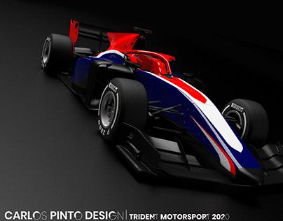 Trident Motorsport 3D Livery Visualisation and Design