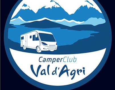 Logo Camper Club Val d'Agri