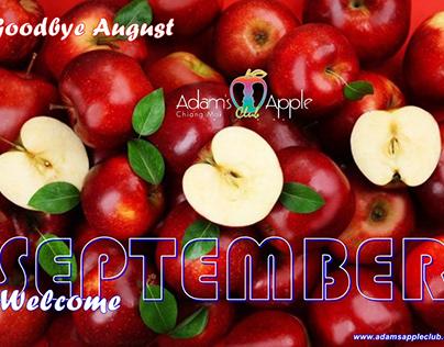 Goodbye August! WELCOME SEPTEMBER 2020!