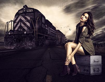 Wasted Time Photohsop CC Photo Manipulation