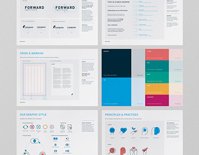 The Forward Institute - Brand Style Guide & Iconography