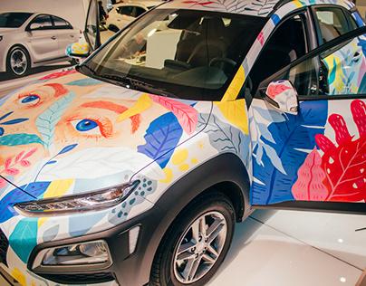 HYUNDAI new car presentation in Madrid