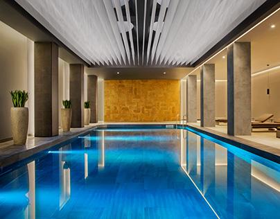 Conrad Hotel Istanbul Bosphorus SPA Video