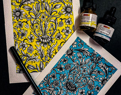 Some designs for fabric print making