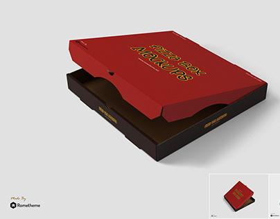 Pizza Box Mockups vol.1