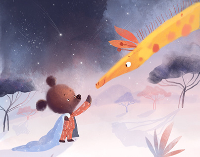 """Saga""— illustrations for the mobile app"