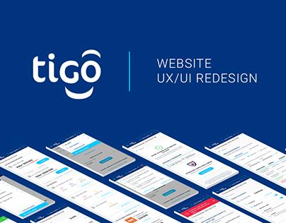UX/UI Redesign / Tigo Website