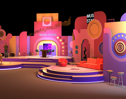 Tv programe set design