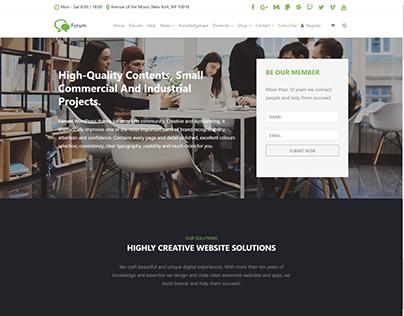 Subscribe - Forum WordPress Theme