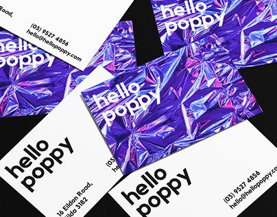 Hello Poppy / Branding