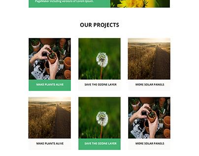 Ecology Web Template