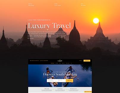 Luxury Travel Vietnam Website