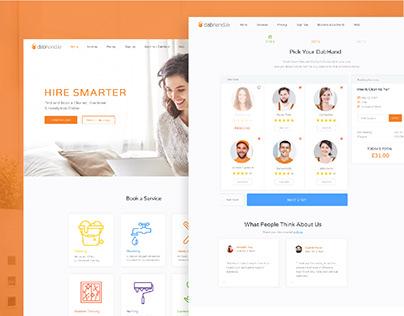 DabHand | UX/UI & Branding