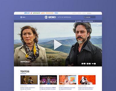Portal Globo TV Imprensa