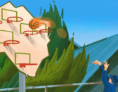 瀨戶內海的跳島印象 — Illustration of Setouchi Triennale