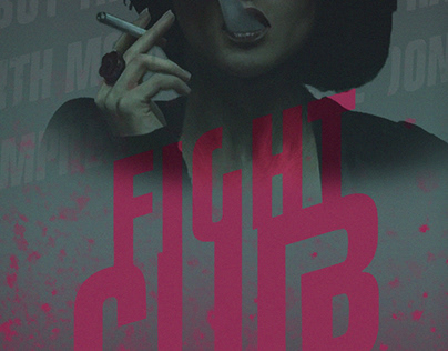 'Fight Club' poster remake (as 90's as possible)