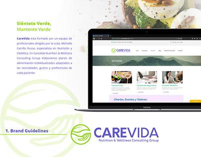 CAREVIDA NUTRITION CENTER - BRAND DESIGN