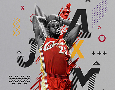 Experimental NBA Posters