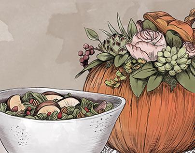 Thanksgivin Food Creastions