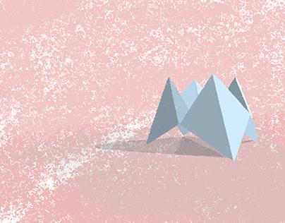 Origami Vector Illustration