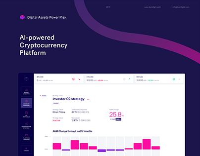 Digital Assets Power Play—Cryptocurrency Platform