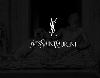 Reklama perfum YSL