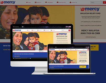 Mercy Malaysia (Website Redesign)