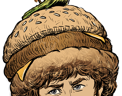 Burger Ambassador [2020] illustrations and design