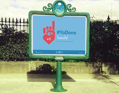 "Campaña social ""Fundación Continuar Vida"""