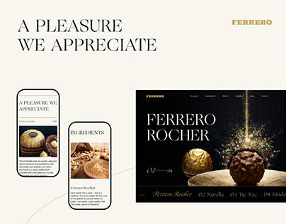 Ferrero Group — Redesign concept
