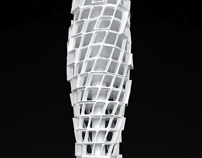 Twisting Tower Concept Model