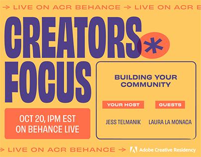 Creators Focus Live: Laura La Monaca