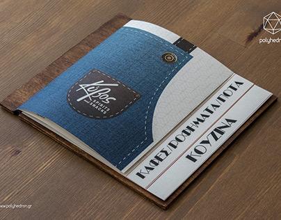 Kivos Menu Design