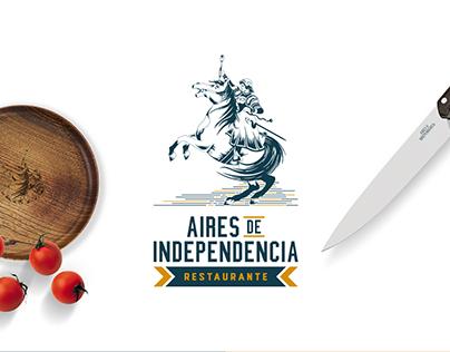 Aires de Independencia Branding Restaurant