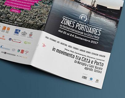 Festival Zones Portuaires/ Genova 2017   Booklet