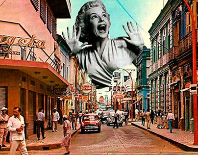 Villahermosa - Collage Postal