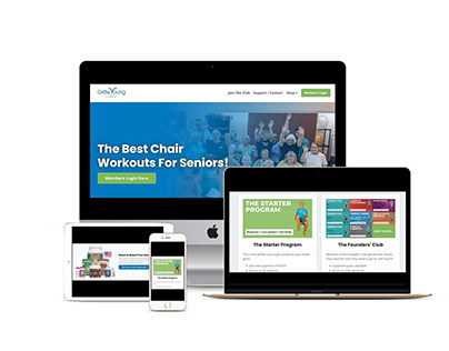 Grow Young Kajabi Website Landing Page