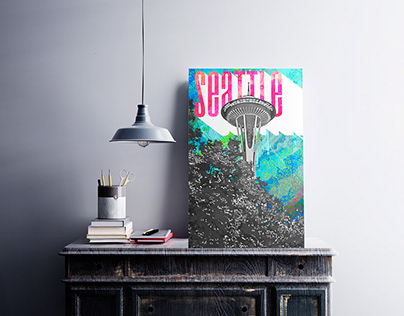 Seattle Art Poster