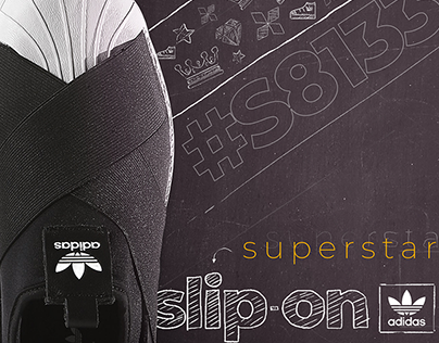 Adidas Superstar Slip-On | Graphic Design