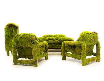 living moss furniture