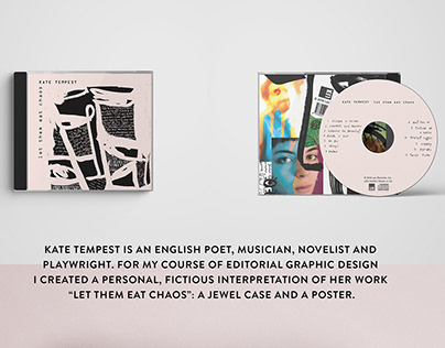 "CD Packaging & Artwork // ""Let them eat chaos"""