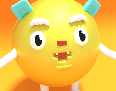 A 3D Character