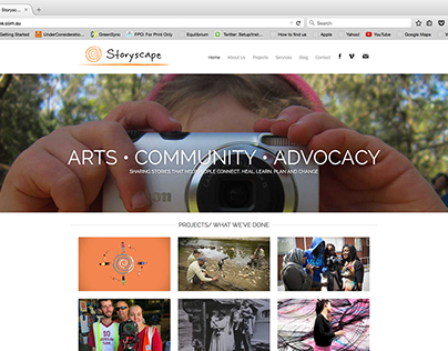 StoryScape Web Site