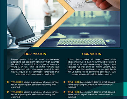 Mission Statement/Services Template