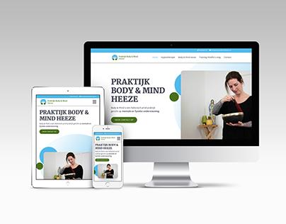 Website Praktijk Body & Mind Heeze