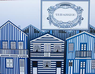 """""""TRIPANÁRIO"""" Portable Stand Design"""
