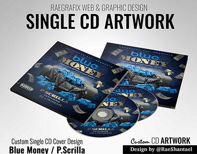 CD Artwork - Blue Money by P.Scrilla
