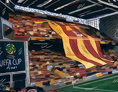 UEFA CUP 2000 GALATASARAY