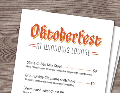 Oktoberfest at The Four Seasons